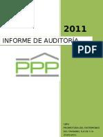 formato ejemplo de informe de auditoría