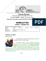 Spring-Summer 2011 Newsletter