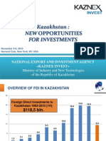 KazNex National Export and Investment Agency Kazakhstan