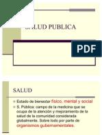 Clase SALUD PUBLICA