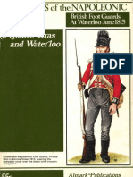 Soldiers of the Napoleonic Wars #1 - Quatre Bras and Waterloo - British Foot Guards at Waterloo, June 1815