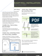 M2509 111 Fact Sheet Diaphragm Wall Installation