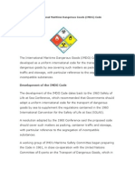 International Maritime Dangerous Good Codes