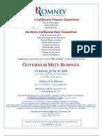 Romney Invite