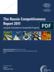 2011 - Russia Competitiveness Report - WEF