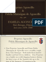 Perpetuo Agoncillo and Fidela Marasigan Family Tree (in Progress)