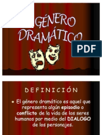 PPT GENERO DRAMATICO 4ºA