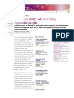 7 Habits of Holy People