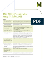 FAQ Millicell uMigration Assay Kit