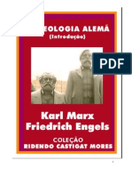 A Ideologia Alemã - Karl Marx e Friedrich Engels