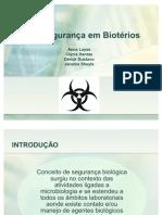 Biossegurana Em Biotrios - Esse