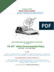 Enviro PolicySummer 2010