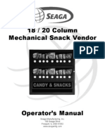 Manual for Snack Machine