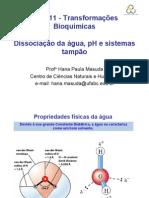 3.pH, Acidos, Bases e Sistemas Tampao