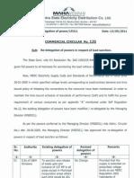 Comm Cir 135 Sanctioning Authority