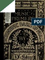 Scientific Basis of Music - Stone