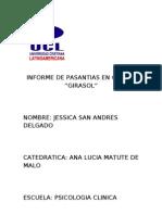 Informe de Pasantias en Clinica