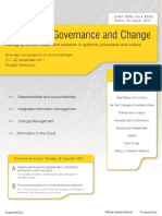 Information Governance and Change