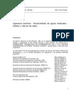 NCh1105-1999 (Alcantarillado)