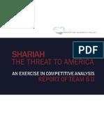 Shariah - The Threat to America (Team B Report)
