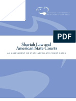 Shariah Law and American State Courts-An Assessment of State Appellate Court Cases