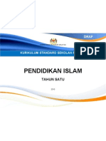 Muka Depan Dokumen Standard P.islam