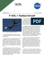 NASA Facts F-16XL-1 Testbed Aircraft 1998