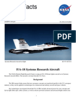 NASA Facts FA-18 Systems Research Aircraft
