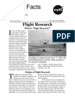 NASA Facts Flight Research What is Flight Research