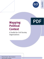 Mapping Political Context