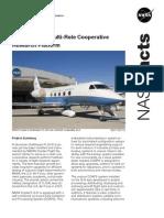 NASA Facts Gulf Stream III Multi-Role Cooperative Research Platform