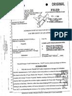 Morgan Creek Complaint-Tupac