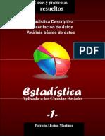 Estadística Descriptiva en Ciencias Sociales-Problemas resueltos-Presentación de datos