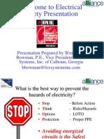 ElectricalSafetyPresentation12.15.06