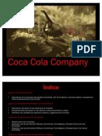 COCA COLA COMPANY Trabajo Analisis