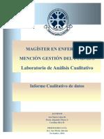 Informe de Datos Cualitativos (III)