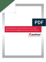 Web Content Management White Paper