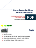 Pemanfaatan Jardiknas Untuk E-Administrasi