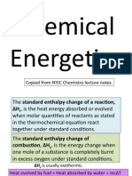 Chemical Energetics Notes Edited