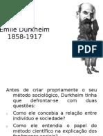 DURKHEIM (AULA II)