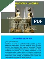 6. La clasificación del arte