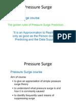 Pressure Surge Material
