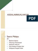 Sastra Melayu