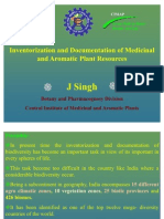 Inventorization and Documentation of Medicinal and Aromatic Plant Resources