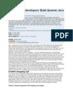Ajax for Java Developers of IBM