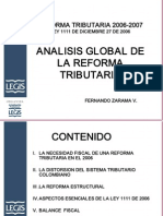 Analisis Reforma Tri but Aria Fernando Zarama