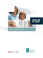 Canadian Health Indicators 2011