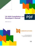 CG6565 Installation Manual