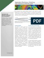 10.0 Innovative Turbulence Modeling_ SST Model in ANSYS CFX