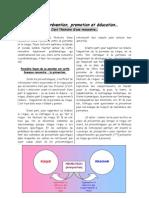 Prévention, Promotion et Education